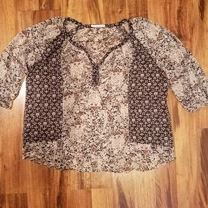 Women's Maurices dressy top size 3